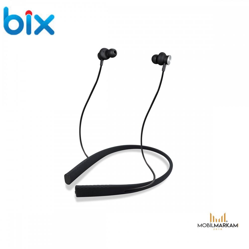 Bix A3 Sports Manyetik Kulak İçi Kablosuz Bluetooth Kulaklık Kulaklık