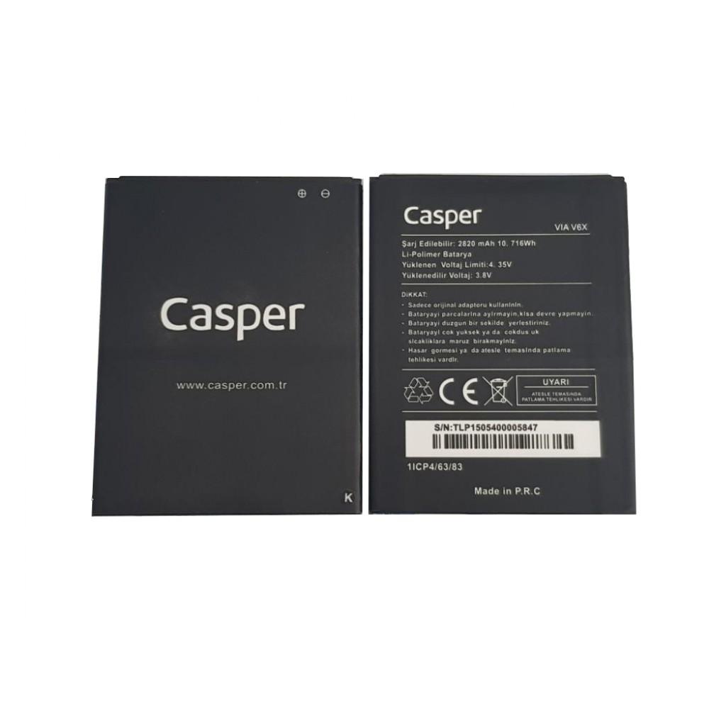 Orijinal Casper Via V6X Batarya Casper Batarya