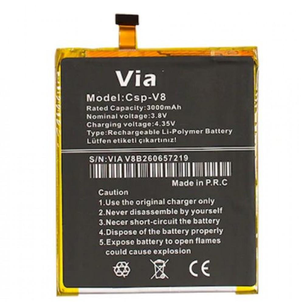 Orijinal Casper Via V8 Batarya Casper Batarya