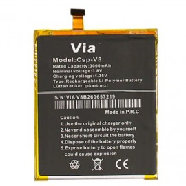 Casper Via V8 Orijinal Batarya Pil