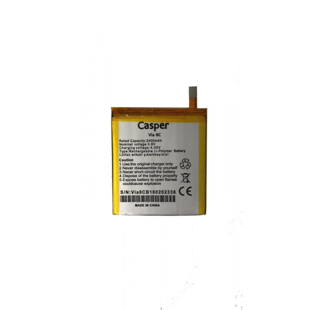 Orijinal Casper Via V8C Batarya Casper Batarya