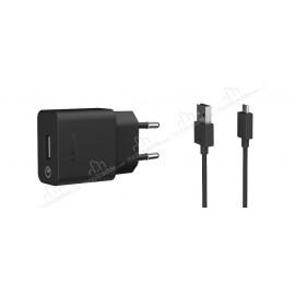 Orijinal Sony UCH10 Micro USB Siyah Hızlı Şarj Aleti