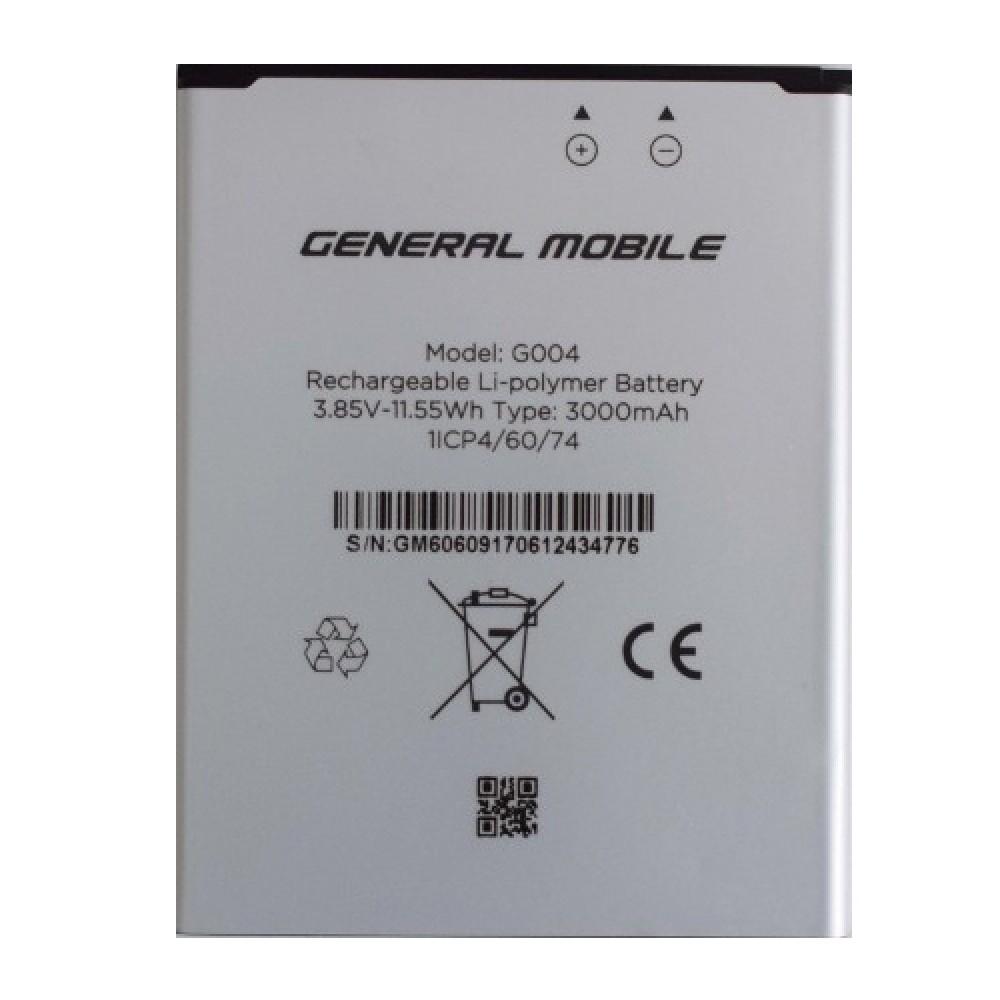 General Mobile 6 Orjinal Batarya Fiyatı ve özellikleri